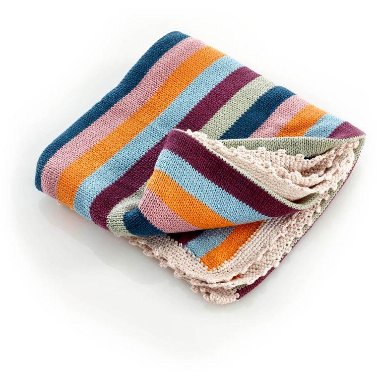 Organic Blanket Rainbow