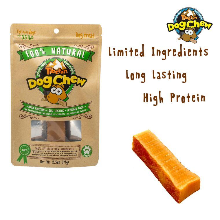 "MEDIUM (Green bag 2.5oz) ""For Most Dogs Under 35 lbs"", 1 chew per bag"