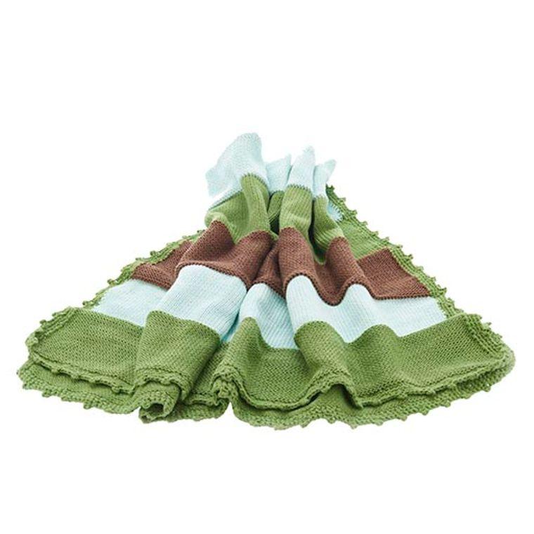 Baby blanket - Green