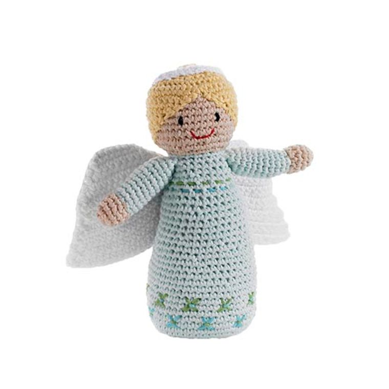 Angel Rattle Turquoise