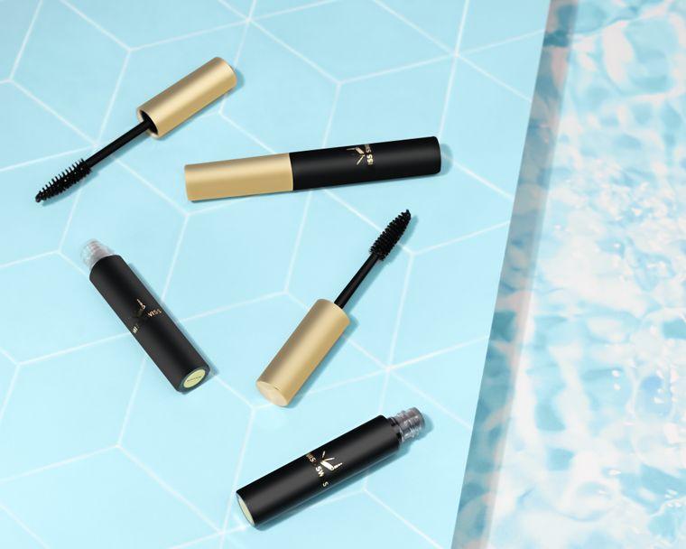 MISS SWISS 3D Mascara |Silhouette Black | Waterproof| Volumizing| Lengthening| Clean Beauty|