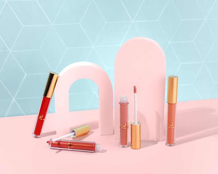 MISS SWISS Lip Gloss | Dora, Tish, Chloe & Lily| Non-Sticky and Pigmented Lip Gloss | Clean Beauty