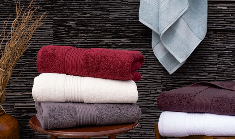 100% Combed Turkish Cotton Terry Towels
