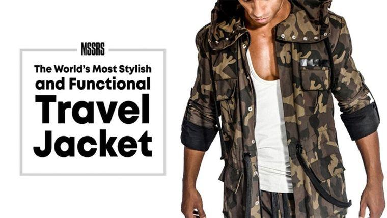 Mssrs Utility Travel Jacket