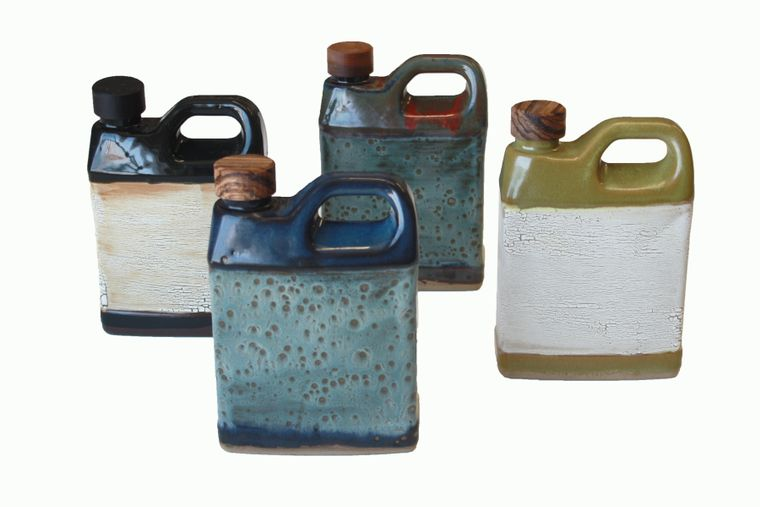 Oil Jug With Stopper
