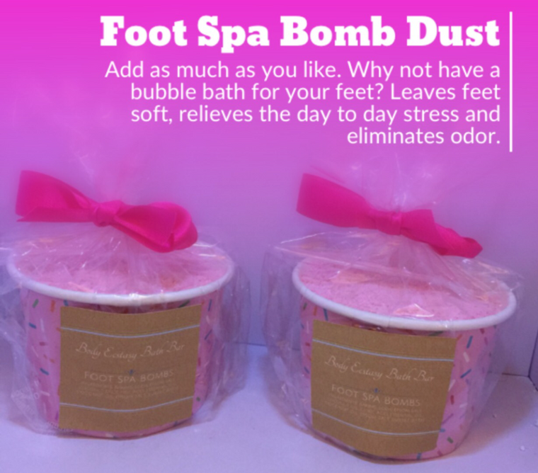 Foot Spa Bomb Dust
