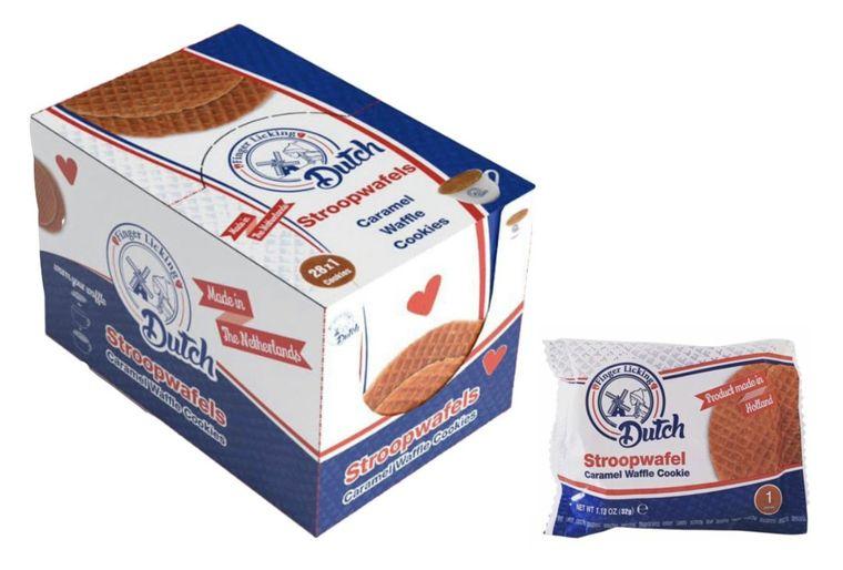 Dutch Caramel Waffle Cookies