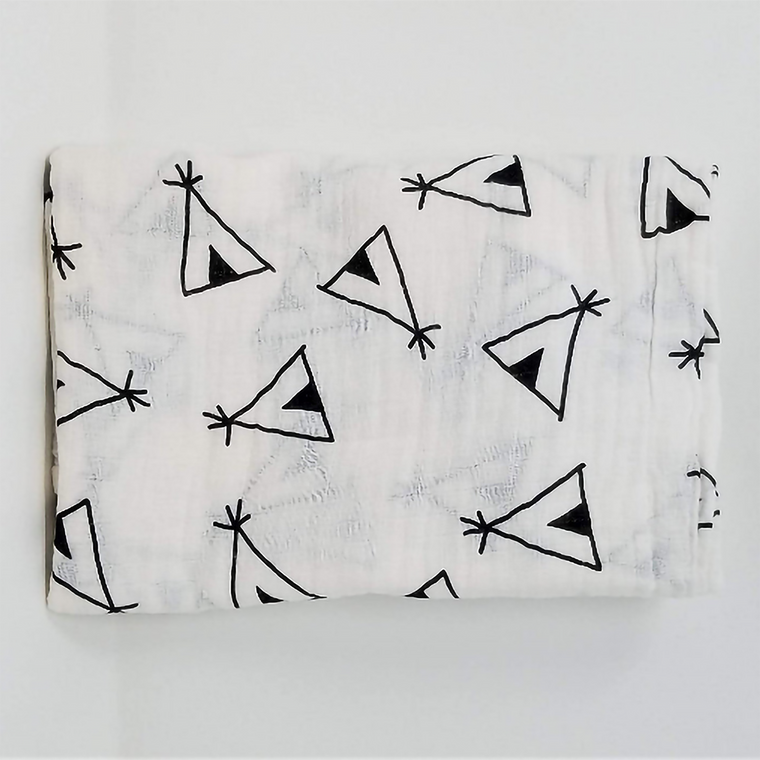 Teepee Swaddle Blanket