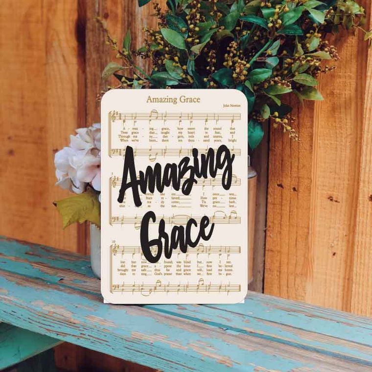 Amazing Grace - Unframed