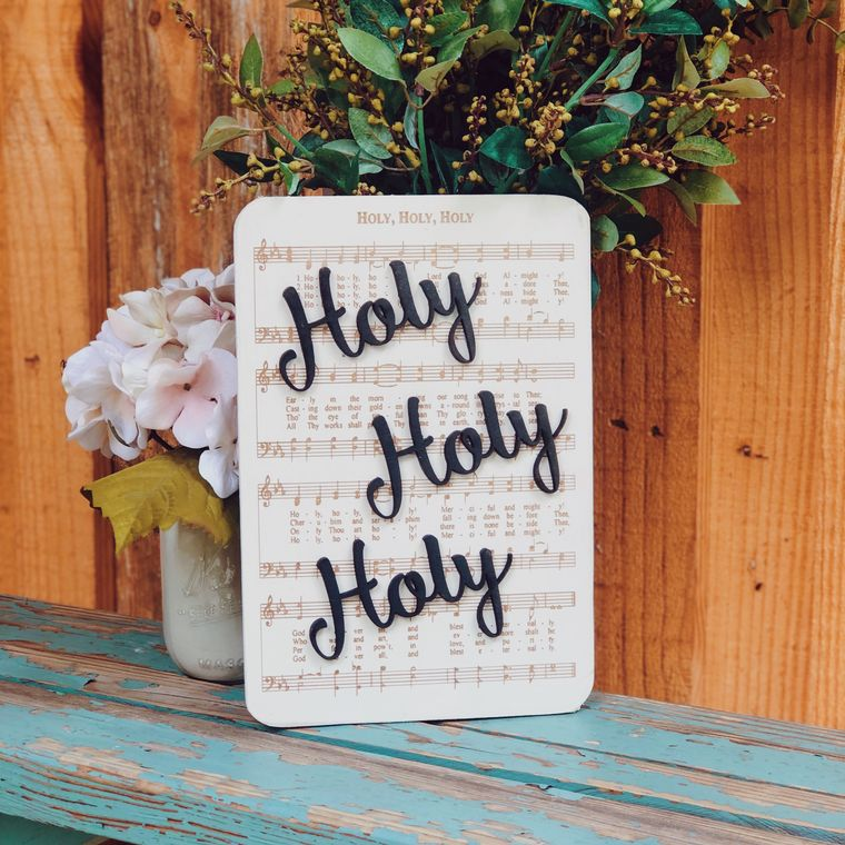 Holy Holy Holy - Unframed
