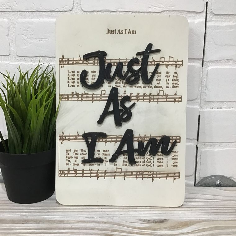 Just As I Am - Unframed