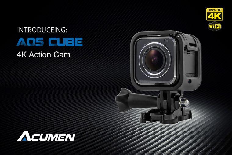 Acumen A05 CUBE  4K action camera
