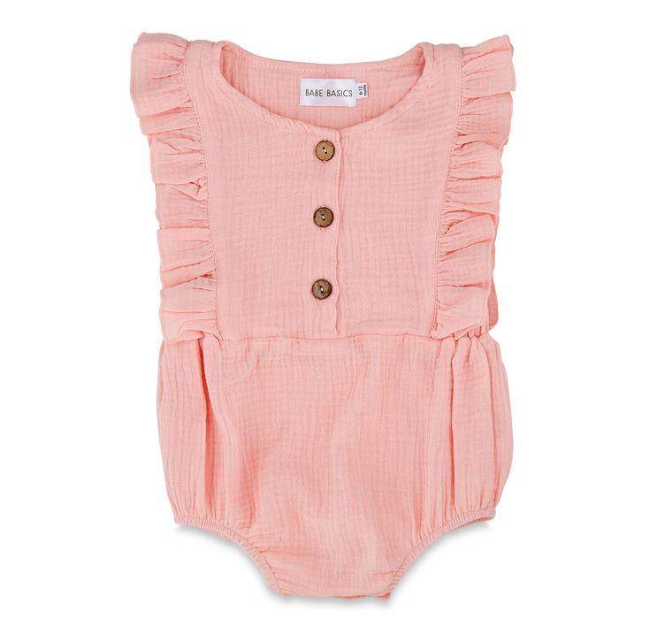 Pink Organic Summer Romper
