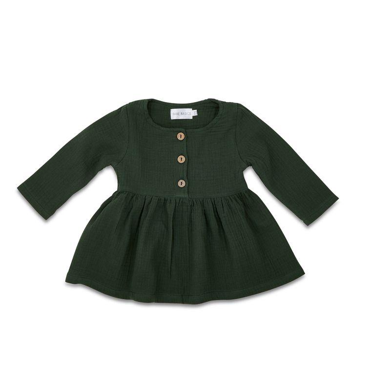 Cotton Baby Dress // 3 Colors