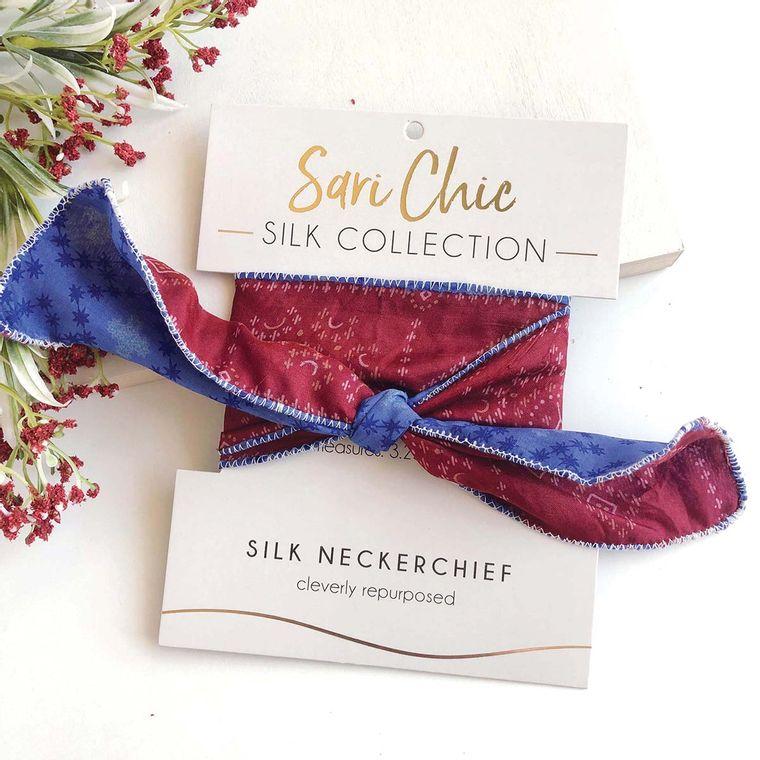 Sari Silk Neckerchief