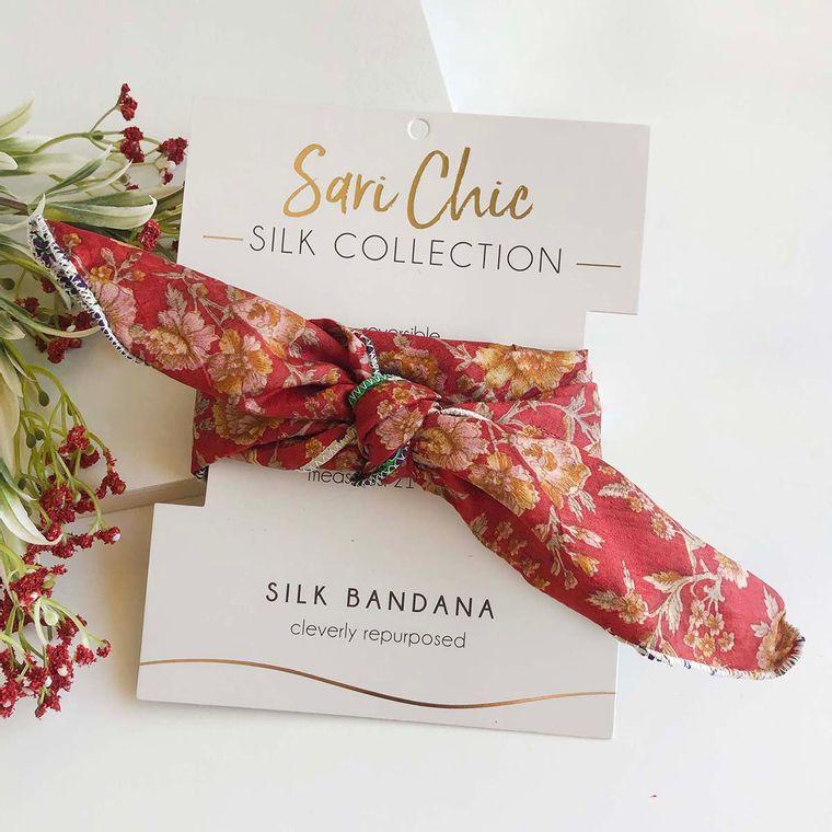 Sari Silk Bandana