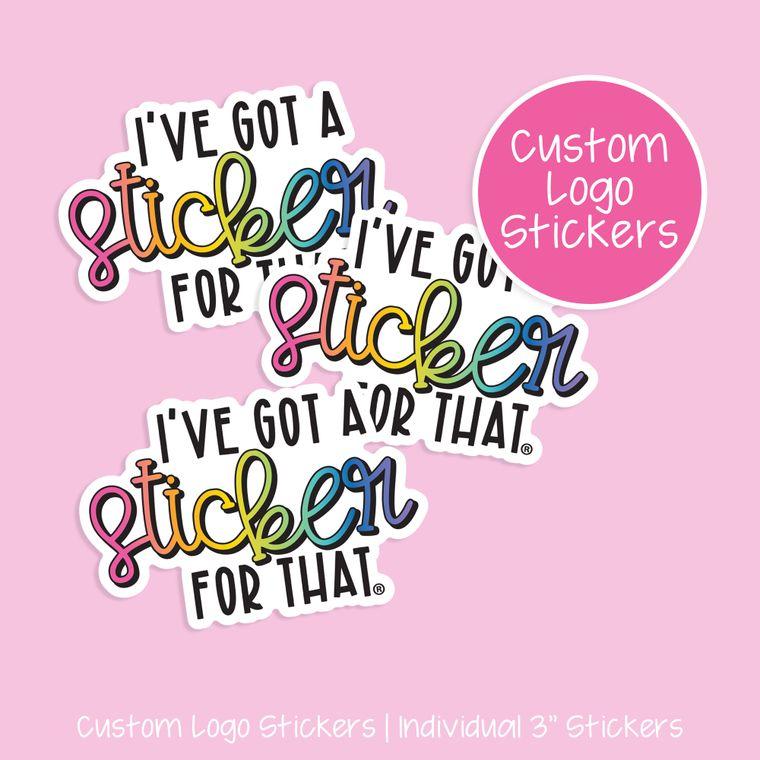 CUSTOM Decal Stickers - 3 Inch