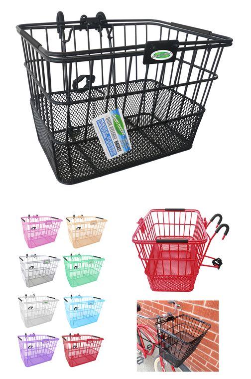 Quik-Release™ Bicycle Basket