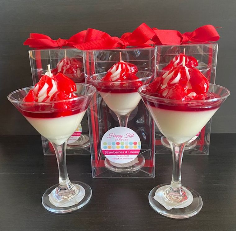 Strawberries & Cream Candle
