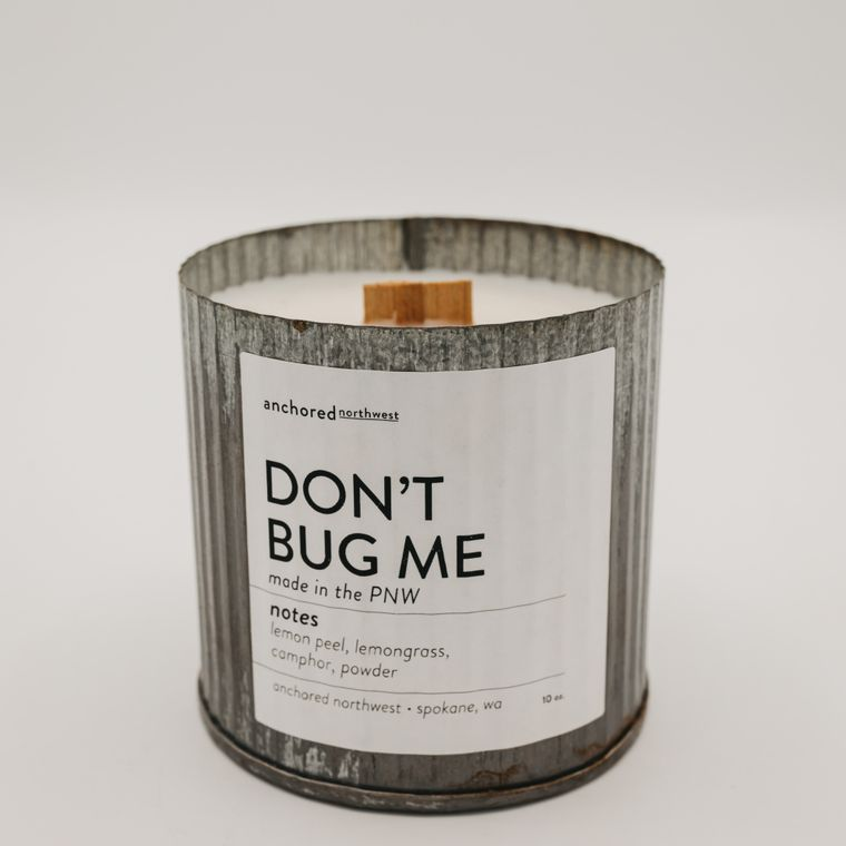 Rustic Vintage Soy Candle - Don't Bug Me (10oz)