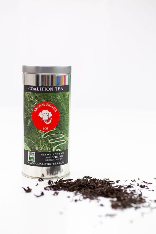 Elephant Friendly Assam Black Loose Leaf Tea