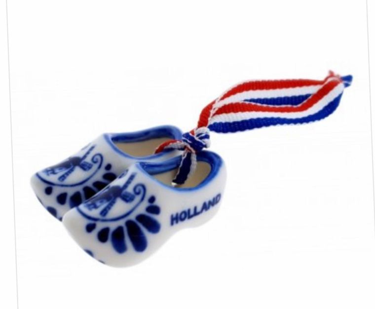 Dutch Wooden Shoes Ornaments