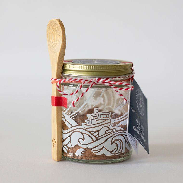 Chocolate Espresso Overnight Oats Gift Set | GF