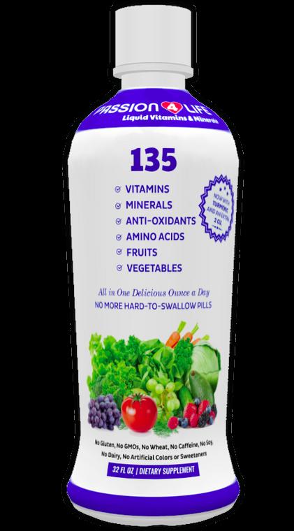 Passion 4 Life Liquid Vitamins & Minerals