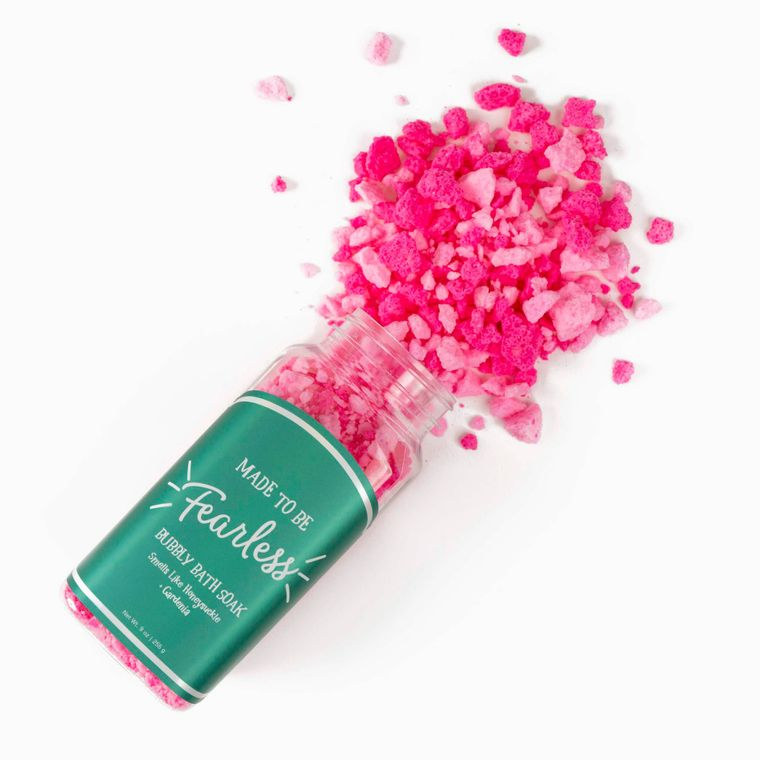 Made to be Fearless Bubbly Bath Soak