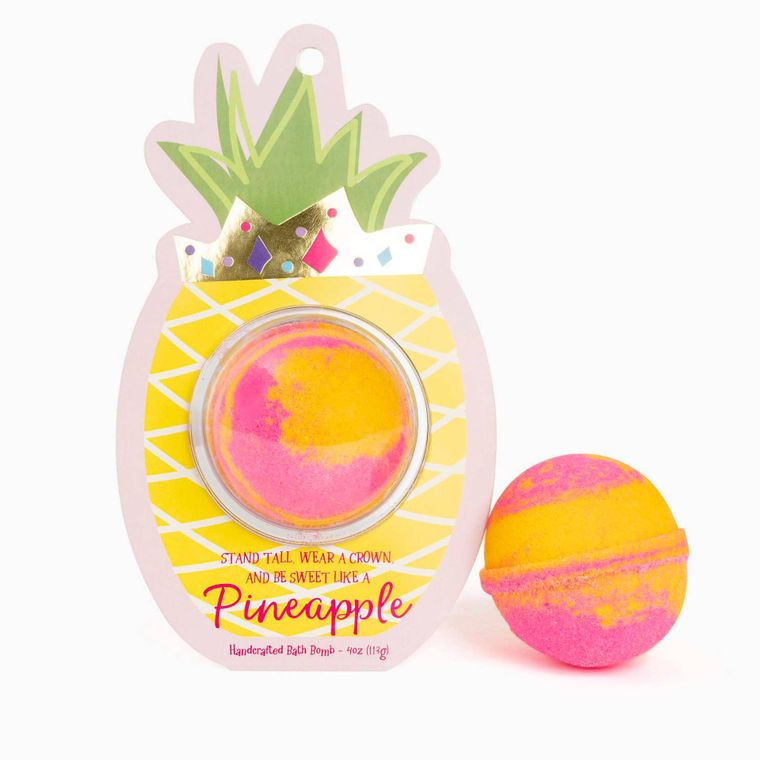 Be Sweet like a Pineapple Clamshell Bath Bomb