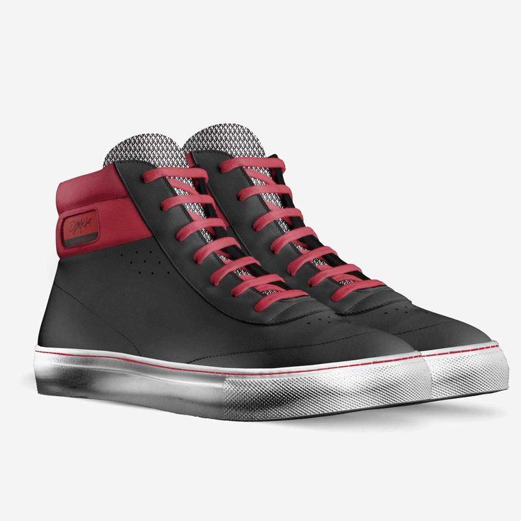 Sidney Italian Leather Hi-Top Sneakers