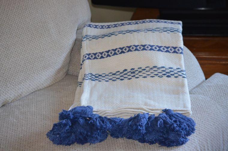 Handloom Woven Throw Blankets