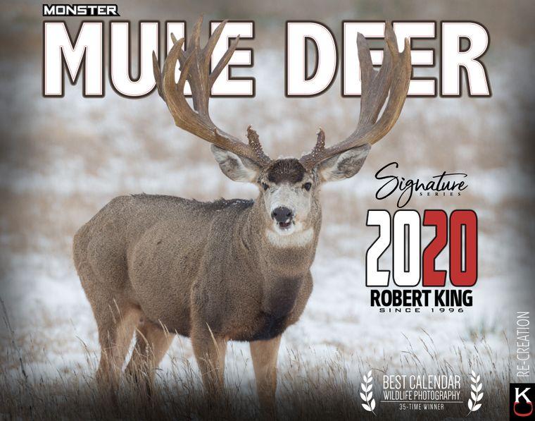 2020 Monster Mule Deer Wall Calendar