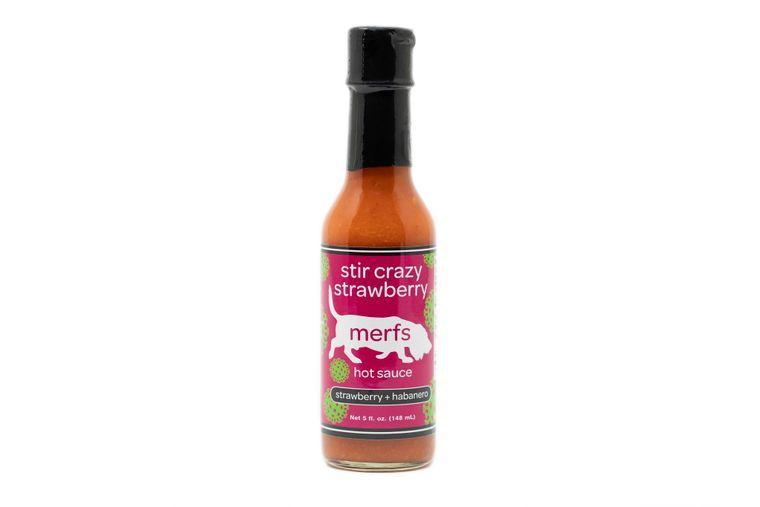 Stir Crazy Strawberry Hot Sauce