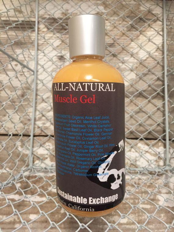 All-Natural Vegan Muscle Gel
