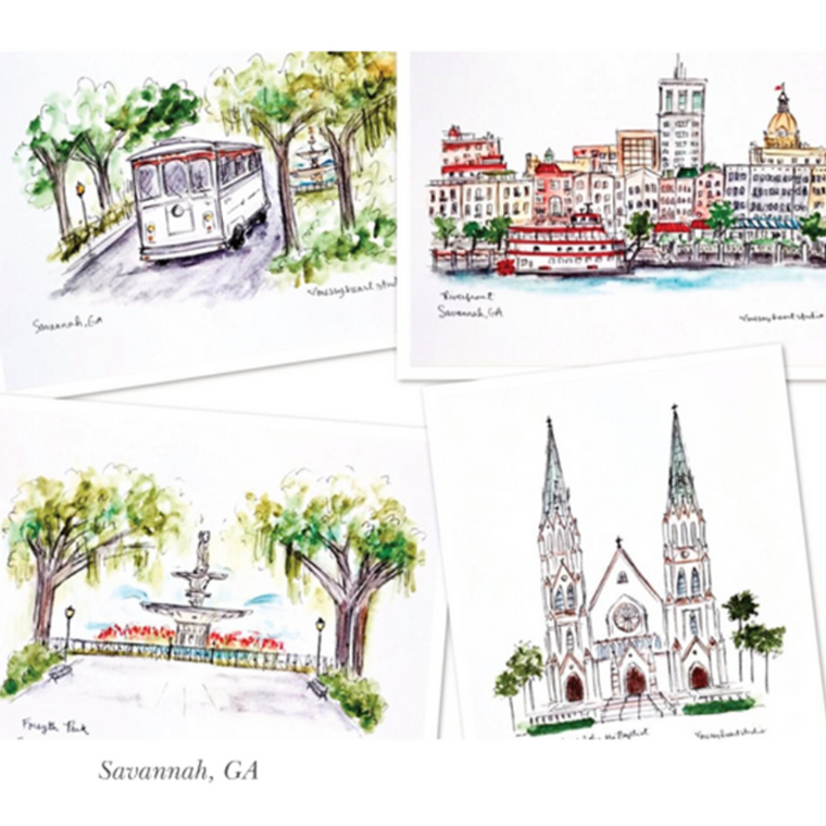 Watercolor & Ink Illustration Prints
