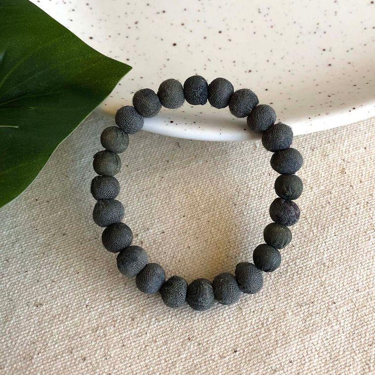 Kantha Chromatic Bracelets - Grey