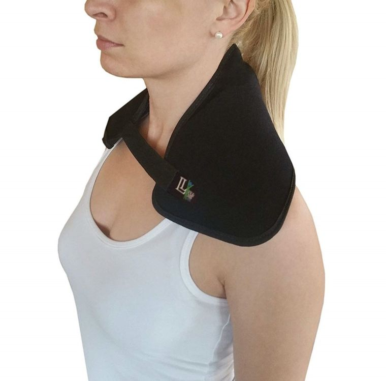 Neck Wrap By Life and Limb Gel Hot and Cold Therapy Wrap