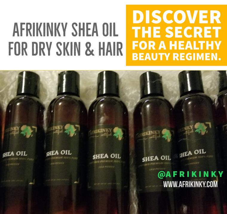 Afrikinky Shea Oil