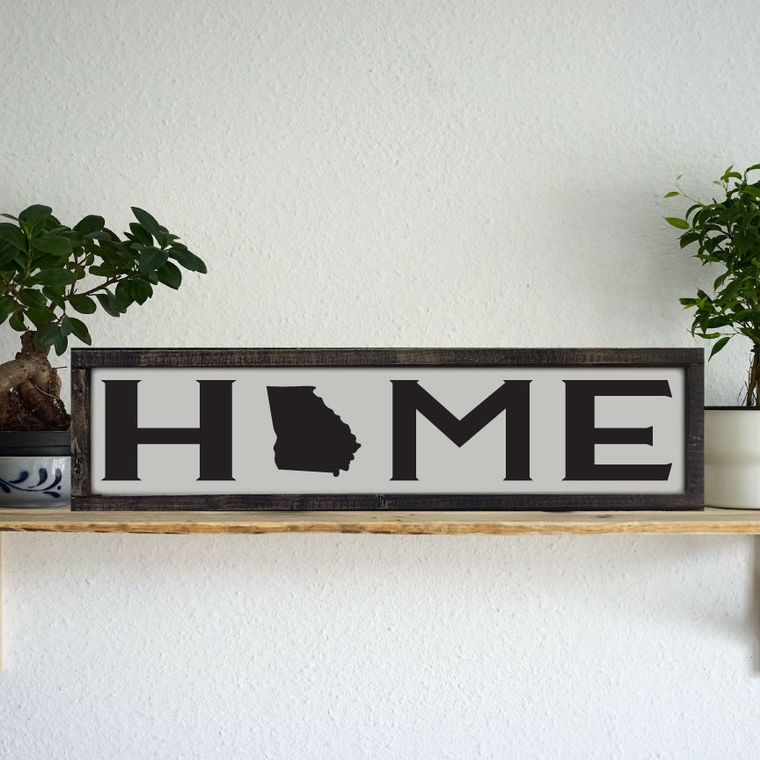 "24x6 ""Any State"" Home Sign"