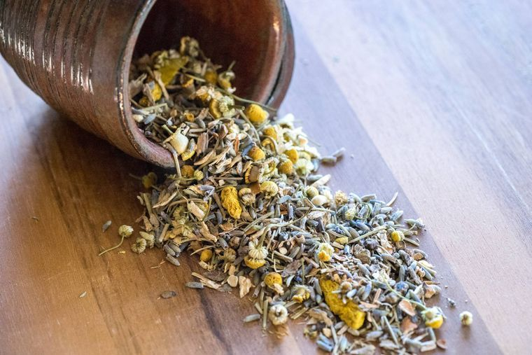 Muscle Rest Herbal Tea - 2 oz w/Reusable Tea Bag