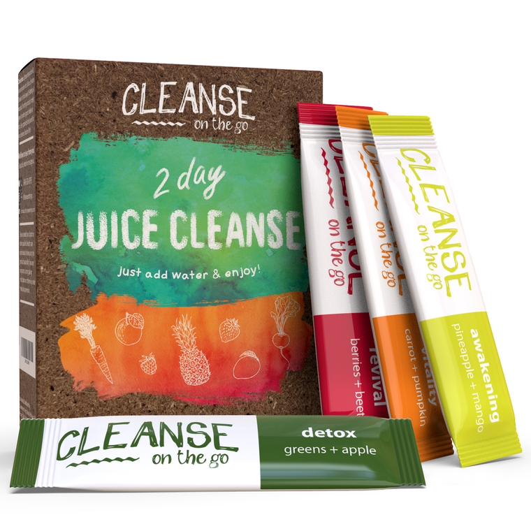 2 Day Juice Cleanse - Just add water & enjoy