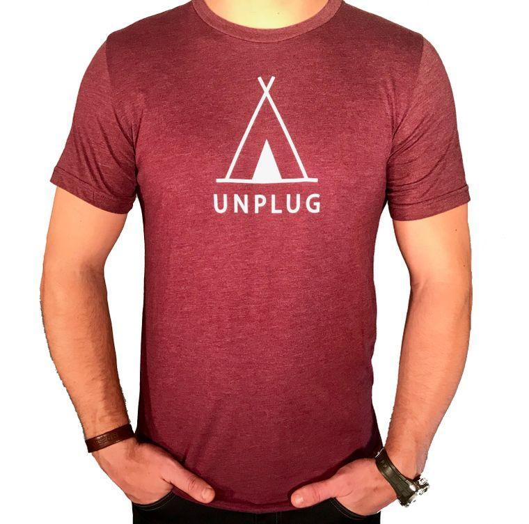 Unplug TeePee Triblend T-Shirt