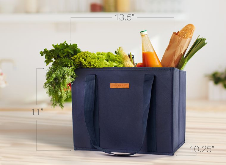 Reusable WASHABLE Grocery Shopping Cart Bags