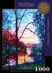SHIPPING 7/1-7/5 Awakening; 1000-pc Velvet-Touch Jigsaw Puzzle by Canadian artist Mandy Budan