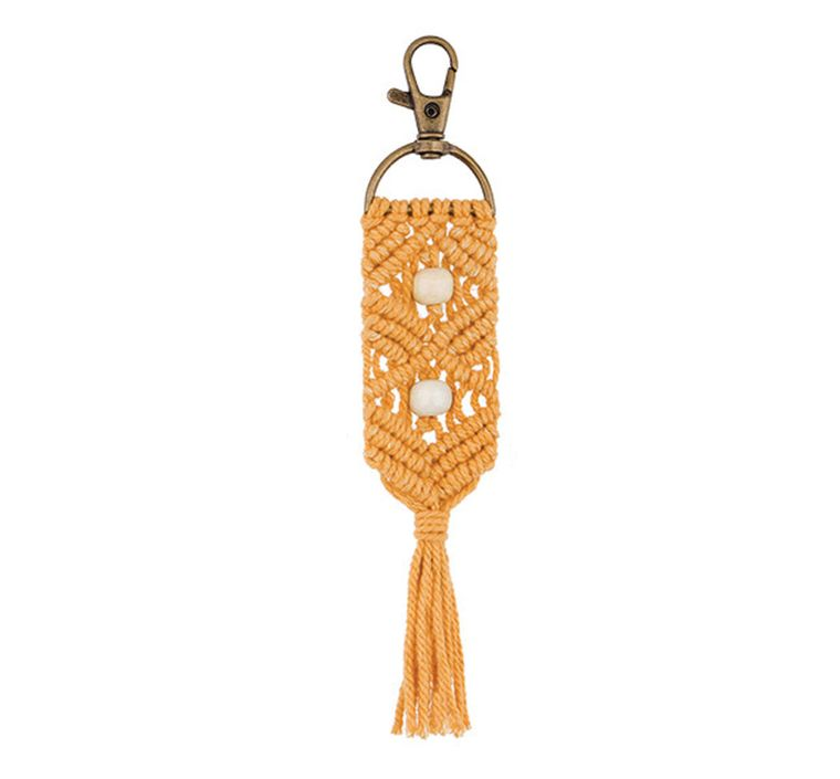 Handbag/Keychain Tassel - Aloha (Mustard)