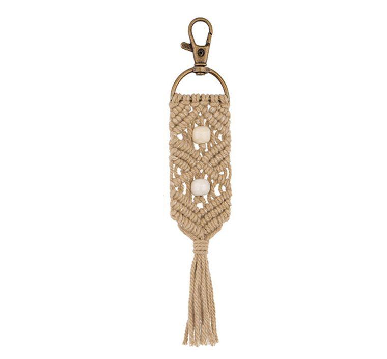 Handbag/Keychain Tassel - Aloha (Taupe)