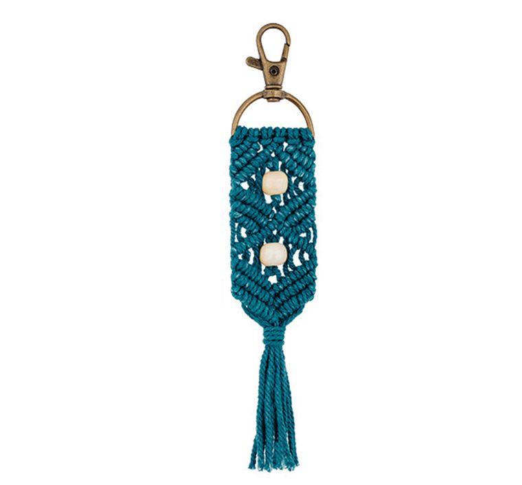 Handbag/Keychain Tassel - Aloha (Teal)