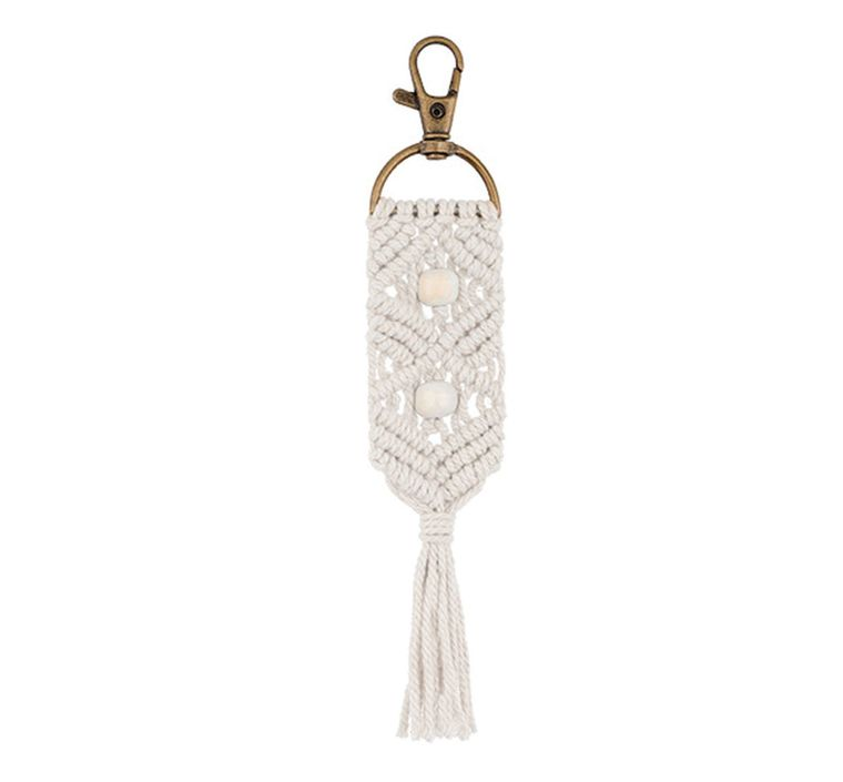 Handbag/Keychain Tassel - Aloha (Ivory)