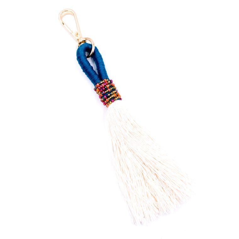 Handbag/Keychain Tassel - Tahiti (Teal)